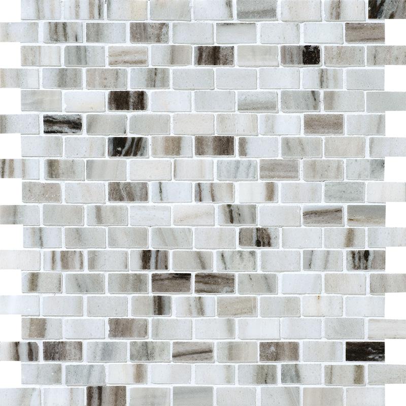 Verona Polished 1st Quality 30,5x30,5 5/8x1 1/4 Marble Mosaics