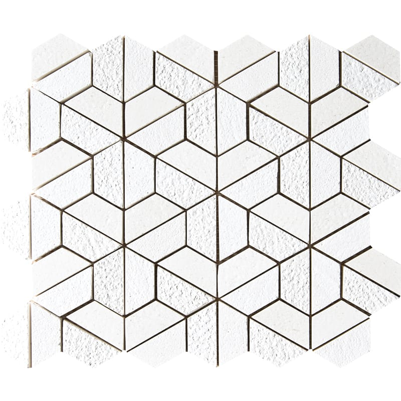 Champagne Textured 1st Quality 26,5×31 3d Hexagon Marble Mosaics