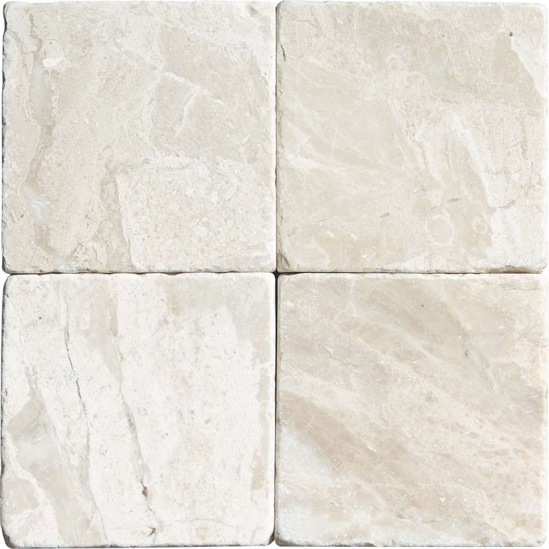 Diana Royal Tumbled 1st Quality 10x10 Marble Tiles
